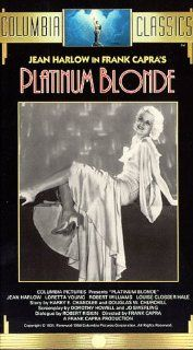 Platinum Blonde [VHS]: Jean Harlow, Loretta Young, Robert Williams, Halliwell Hobbes, Reginald Owen, Edmund Breese, Don Dillaway, Walter Catlett, Claud Allister, Louise Closser Hale, Wilson Benge, Vance Carroll, Frank Capra, Harry Cohn, Dorothy Howell, Dou