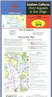 Maptech Waterproof Chart 126: Southern California: Point Arguello to San Diego: Everything Else