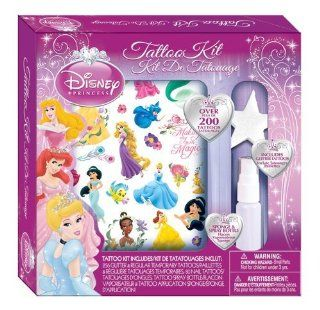 Wear Your Favorite Princess   Savvi Girls Disney Princess Tattoos Kit   200 Pieces: Toys & Games