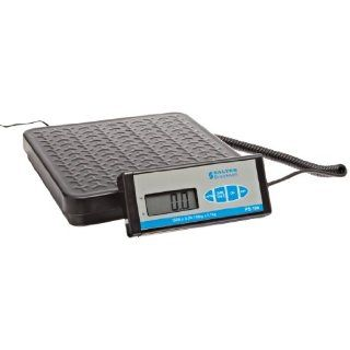 "Salter Brecknell PS 150 Digital Parcel Scale with LCD Display, 12 25/128"" Length x 11 89/128"" Width Pan, 150 lbs Capacity: Science Lab Electronic Toploading Balances: Industrial & Scientific"