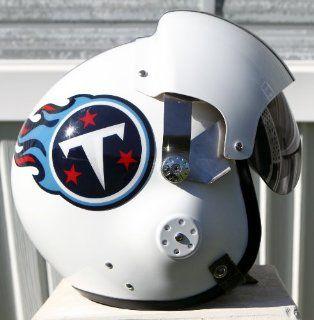 Tennessee Titans Fighter Pilot Helmet   NFL Football USAF Air Force Johnson