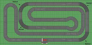 Carrera Digital 132 Slot Car Race Track Sets   Banked Turns Super Layout 2 Car Combo (30160 SLB) Toys & Games