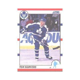 1990 91 Score Canadian #142 Tom Kurvers: Sports Collectibles