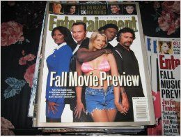 Entertainment Weekly Magazine (FALL MOVIE PREVIEW, 136 New Movies, Pam Grier, Michael Keaton, bridget Fonda, Samuel L. Jackson, Robert DeNiro, Quentin Tarantino's 'Jackie Brown'): Firooz Zahedi: Books