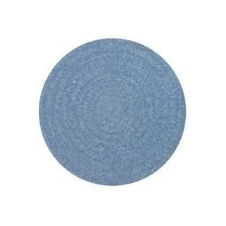 Chenille Round Woven Trivet   French Blue Kitchen & Dining