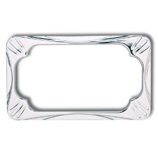 Arlen Ness License Plate Frame   Deep Cut   Chrome 12 154: Automotive