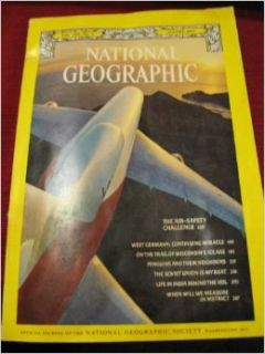 National Geographic, August 1977 V(ol. 152, No. 2): John J. Putman, Robert W. Madden, Anne LaBastille, Cary Wolinsky, Michael E. Long, Bruce Dale, Roger Tory Peterson, Des and Jen Bartlett, Dean Conger, Doranne Wilson Jacobson: Books