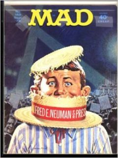 Mad Magazine September 1972 (Issue #153) Books