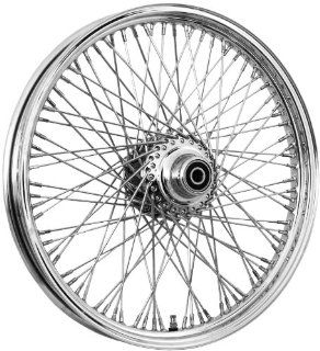 Bikers Choice 16 x 3.5in. Dual Disc Front Wire Wheel   80 Spoke , Color: Chrome, Position: Front, Rim Size: 16 M 163FH209 25: Automotive