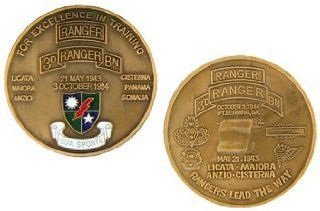 3rd Ranger Battalion Challenge Coin  Collectible Coins