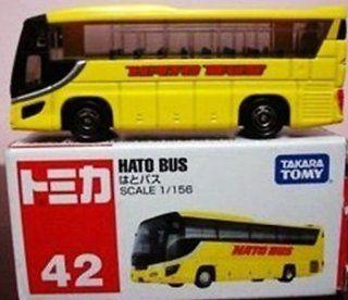 TOMY Tomica #42 Isuzu Gala Hato Bus 1/156 Diecast Car Toys & Games