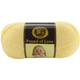 Lion Brand Yarn 550 158 Pound of Love Yarn, Honey Bee: Arts, Crafts & Sewing