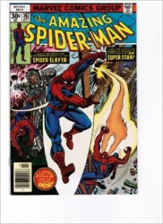 The Amazing Spider Man #167  Stalked by the Spider Slayer (First Appearance of Will O' the Wisp   Marvel Comics) Len Wein, Ross Andru Books
