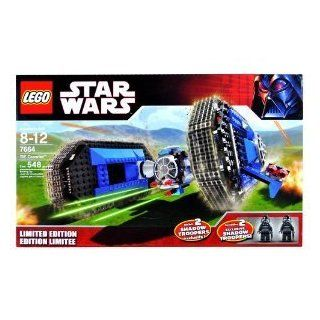 Lego Year 2007 Limited Edition Star Wars Series Vehicle Set # 7664   Thailand Crawler with 2 Exclusive Shadow Trooper Minifigures (548 Pieces) (japan import): Toys & Games