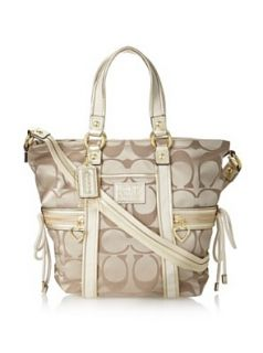 Coach Daisy Signature Pocket Tote 20101 Khaki: Shoes