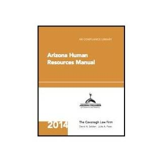 Arizona Human Resources Manual (HR Compliance Library): The Cavanagh Law Firm, Shannon Monson, Hanna R. Donner: Books