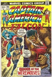 Captain America and the Falcon #164 (Queen of the Werewolves!): Marvel Comics: Books