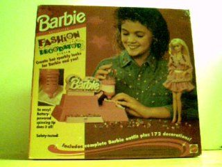 Barbie Fashion Decorator * Includes Complete Barbie Outfit Plus 172 Decorations: Toys & Games