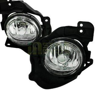 2010 2011 Mazda Mazda 3 2.3L Engine Model Only Fog Light Kit Clear Lens (Will not fit 2.0L and 2.5L Engine Model) Automotive