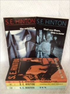 S.E. Hinton Collection Set (Outsiders, Rumble Fish, Tex, That Was Then This Is Now, Taming the Star Runner): S. E. Hinton: Books