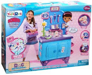 Doc McStuffins Deluxe Get Better Check Up Center: Toys & Games