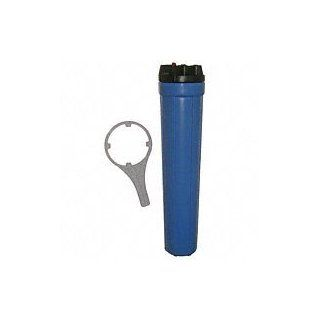 Whole House Water Filter 3/4 NPT 20 Inch Cartridge PWFHO2520BR by Kem Flow: Home Improvement