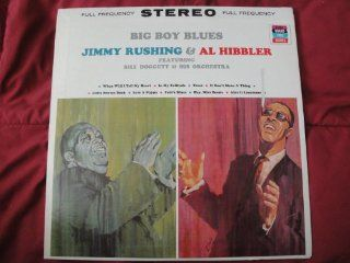 """Big Boy Blues"" Jimmy Rushing & Al Hibbler featuring Bill Doggett & His Orchestra Pickwick Grand Prix Series KS 407 Stereo Vinyl Lp Record VG++: Music"