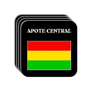 "Bolivia   ""APOTE CENTRAL"" Set of 4 Mini Mousepad Coasters : Everything Else"