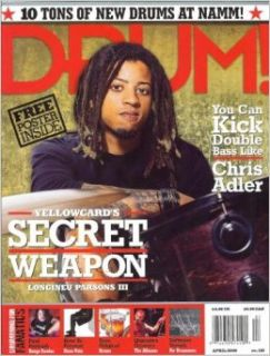 Drum Magazine (April 2006) (Yellowcard's Secret Weapon Longineu Parsons III): Andy Doerschuk: Books