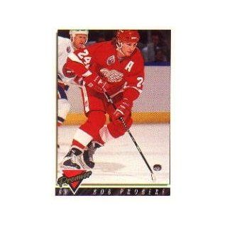 1993 94 Topps Premier #177 Bob Probert: Sports Collectibles