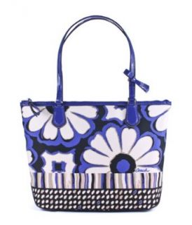Coach Poppy Floral Scarf Print Small Tote Shoes