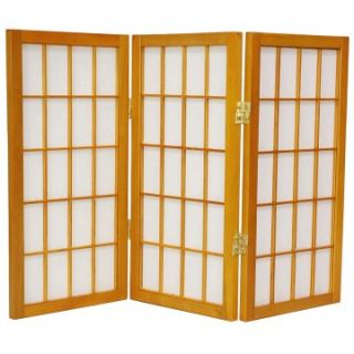 Desktop Window Pane 24 Inch Shoji Screen   Room Dividers