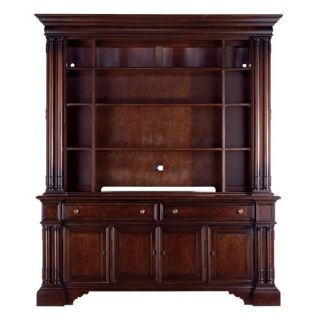 Stanley City Club Country Estate TV Bookcase Blair 933 17 51   Entertainment Centers