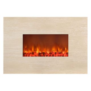 Yosemite Home Decor Adobe 38 Wall Mount Electric Fireplace   Electric Fireplaces