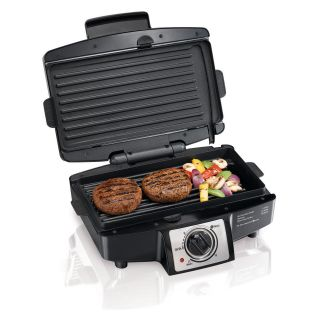Hamilton Beach 25332 Easy Clean Indoor Grill with Removable Grid   Indoor Grills