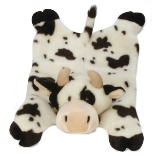 GoDog Barnyard Buddy Cow Dog Toy   Accessories