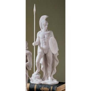 Design Toscano 12.5 in. Ares Classical Greek God Statue   Sculptures & Figurines
