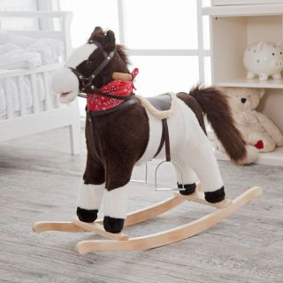 Charm Pinto Rocking Horse with Movement and Sounds   Rocking Toys