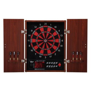 Viper Neptune Electronic Dart Board with Cabinet   Electronic Dart Boards