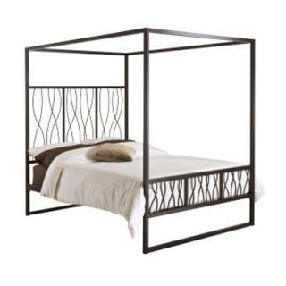 Samson Canopy Platform Bed   Beds