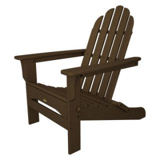 Trex Outdoor Furniture Cape Cod Folding Adirondack Chair Adirondack ...