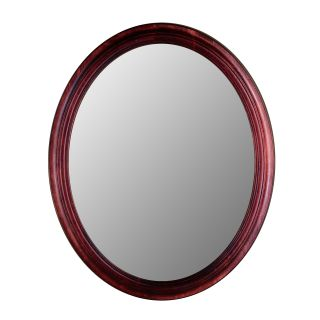 Hitchcock Butterfield Traditions Series Oval Wall Mirror   770   Rosewood   Wall Mirrors