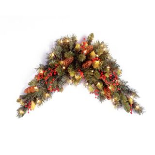 3 ft. Classical Collection Pre lit Swag   Swags & Garland