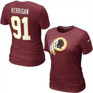 Nike Ryan Kerrigan Washington Redskins Womens Name & Number T Shirt