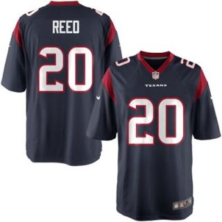 Nike Youth Houston Texans Ed Reed Team Color Game Jersey