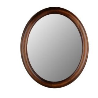 Hitchcock Butterfield Premier Series Oval Wall Mirror   771   Dark Oak   Wall Mirrors