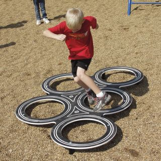 Sportsplay Tire Challenge   Commercial Playground Equipment