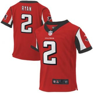 Nike Matt Ryan Atlanta Falcons Toddler Game Jersey   Red