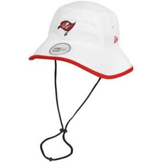 New Era Tampa Bay Buccaneers Training Bucket Hat   White