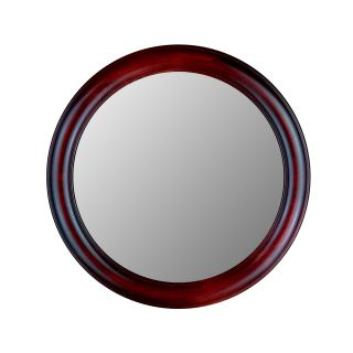 Hitchcock Butterfield Rounds Series Round Wall Mirror   772   Rosewood   Wall Mirrors